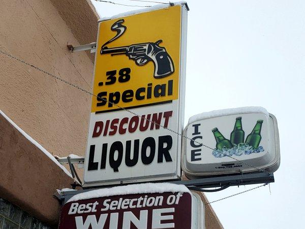 About .38 Special Discount Liquor in Walsenburg, Colorado
